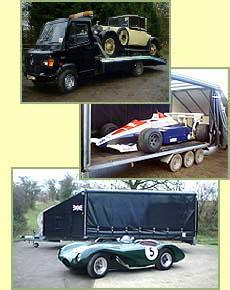 From vintage Rolls Royce to F1 cars, we have the expertise and the equipment